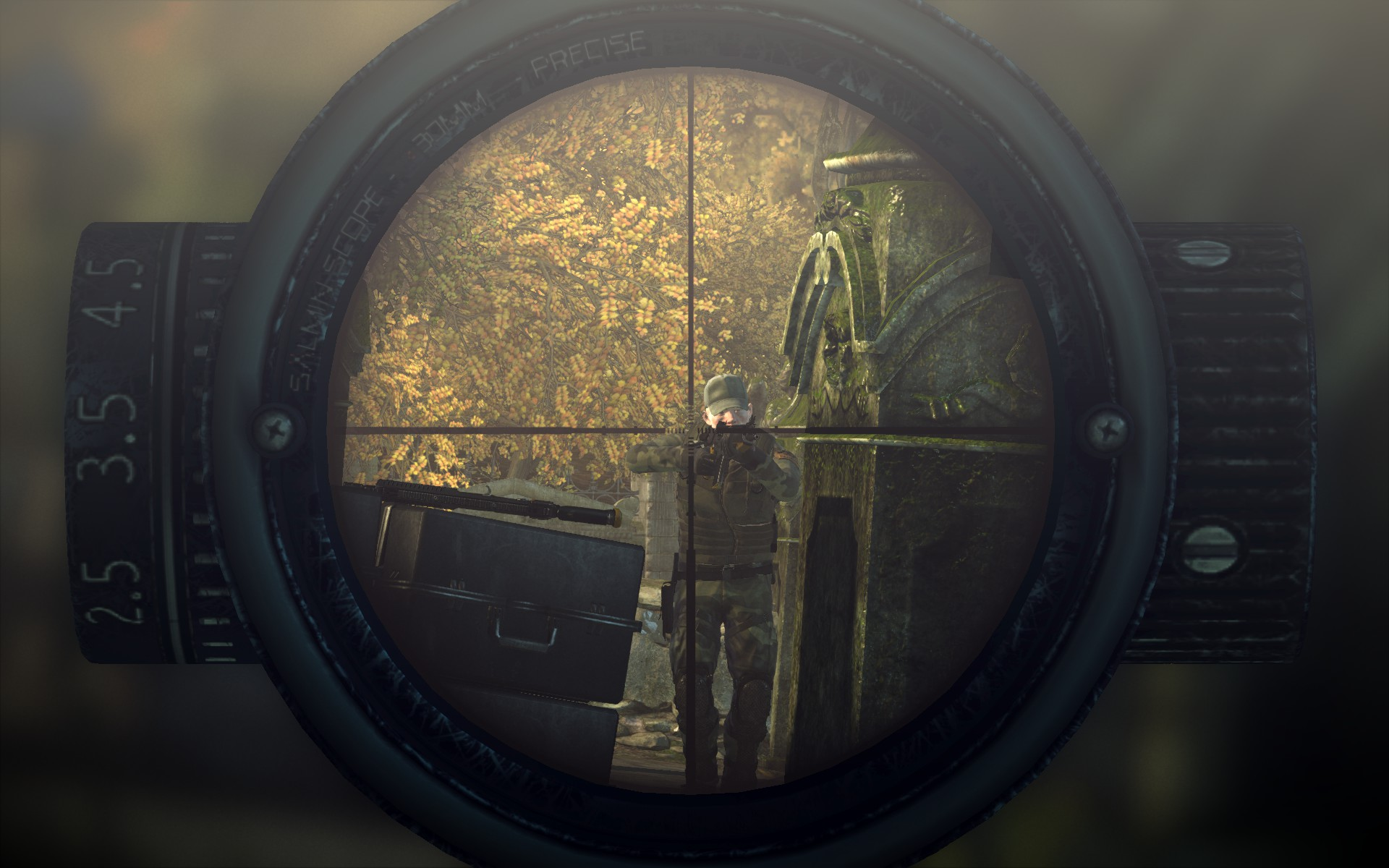 Hitman: Absolution Sniper Scope